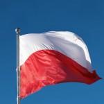flaga Polski duza na maszcie